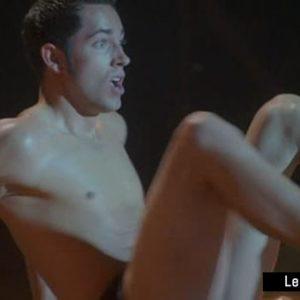 Zachary Levi sexy shirtless photo nude