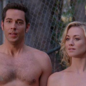 Zachary Levi shirtless nude