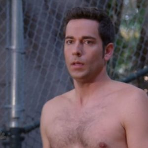 Zachary Levi uncensored nude pic nude