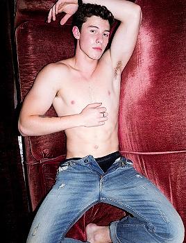 Shawn Mendes pants unbuttoned